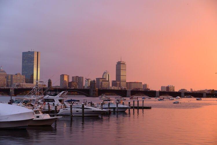 boston sailing charter
