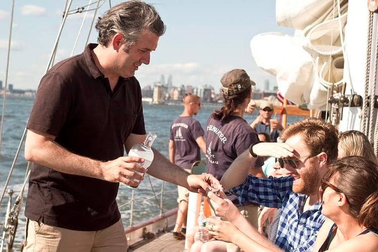 This 82.0' Schooner cand take up to 37 passengers around New York