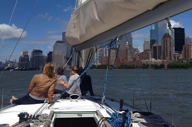 Sloop boat rental in Pier 25 Manhattan, NY