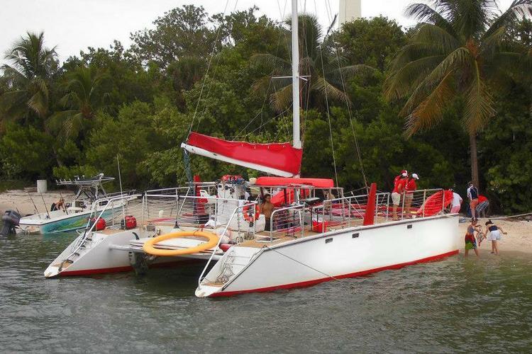 Catamaran your day away!