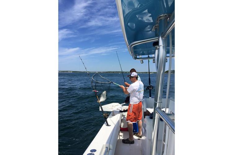 Contender's 35.0 feet in Montauk