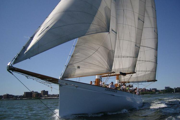 Up to 36 persons can enjoy a ride on this Classic boat