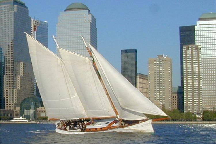 Schooner's 80.0 feet in New York