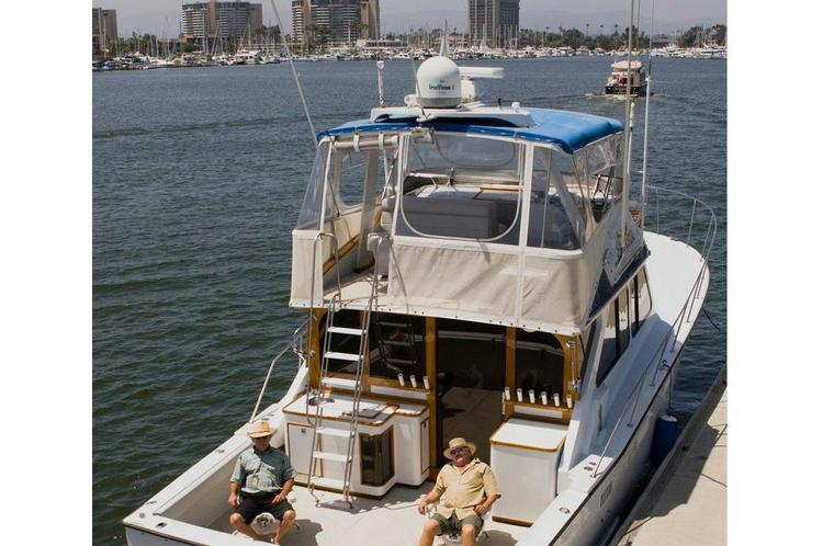 This is the premiere fishing boat experience in Marina del Rey