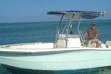 Great boat for a fun adventure and swim