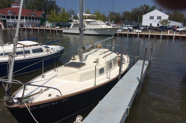 A classic sailing yacht