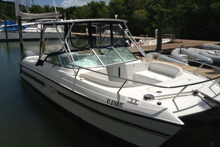 Catamaran boat rental in American Yacht Harbor, U.S. Virgin Islands