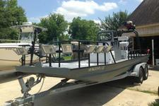 Stealthy Flats Boat for Serious Flounder Fishing