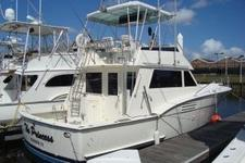 Head Offshore Fishing in Comfort on this Large Hatteras