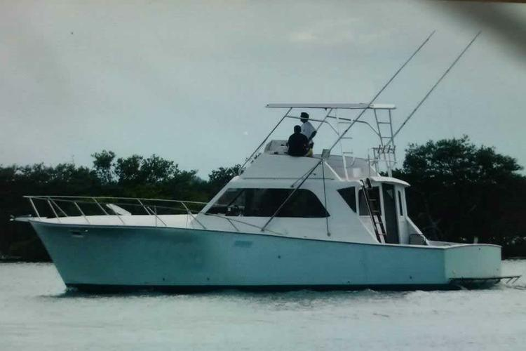Sunset Cruise on a Classic Egg Harbor Sportfishing Yacht