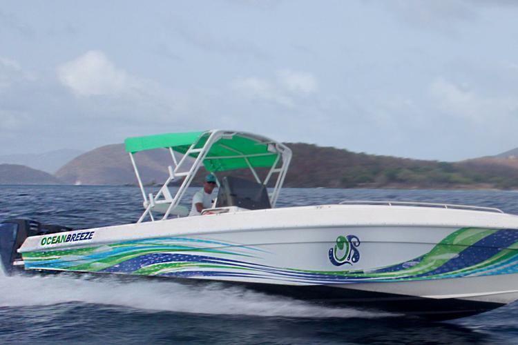 Boat rental in St. John,