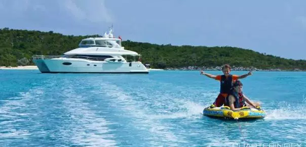 Take this Luxury Yacht for a Spin in the Caribbean!