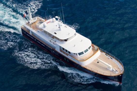 Climb Aboard this Luxurious Yacht in the Caribbean!