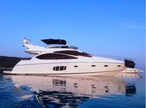 Sunseeker boat for rent in Tortola