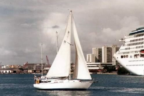 See the Sights of San Juan on this Classic Sloop!