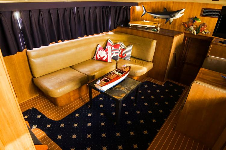 Discover North Bay Village surroundings on this Chris Craft Commander Yacht boat