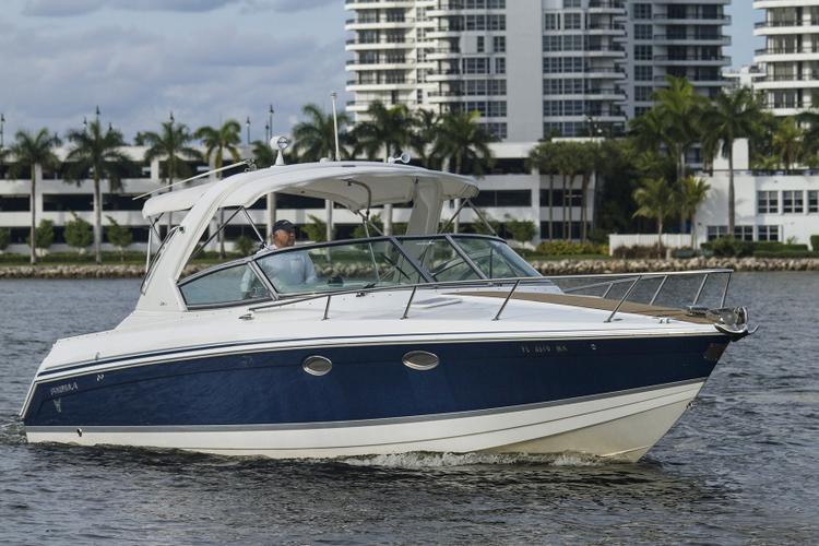 Cuddy cabin boat rental in Haulover Marina, FL