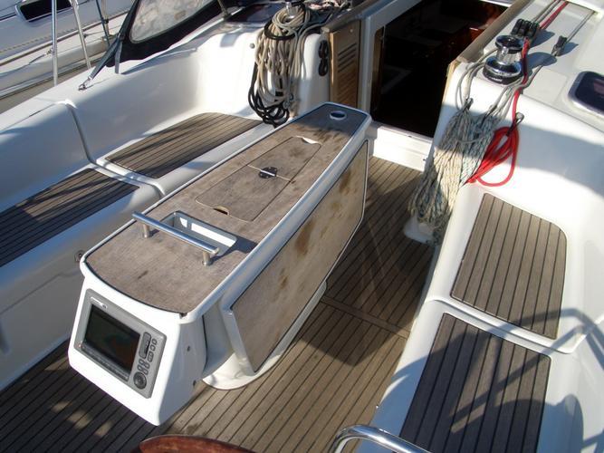 Discover Grosseto surroundings on this Oceanis 40 Beneteau boat