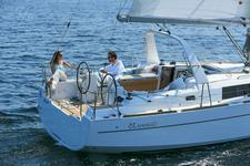 Sail away on this spacious and affordable sailboat