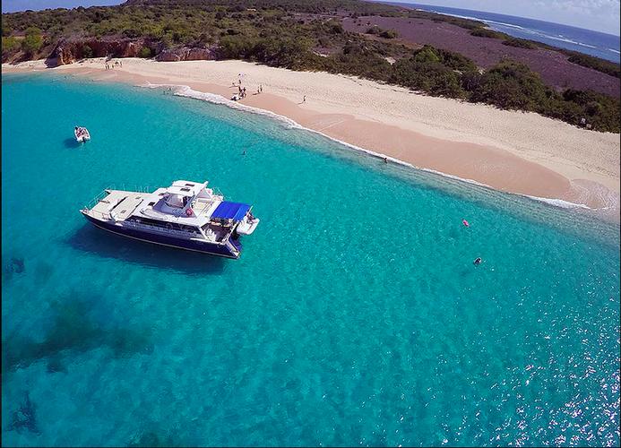 Get the best of St. Maarten aboard this amazing Cat!