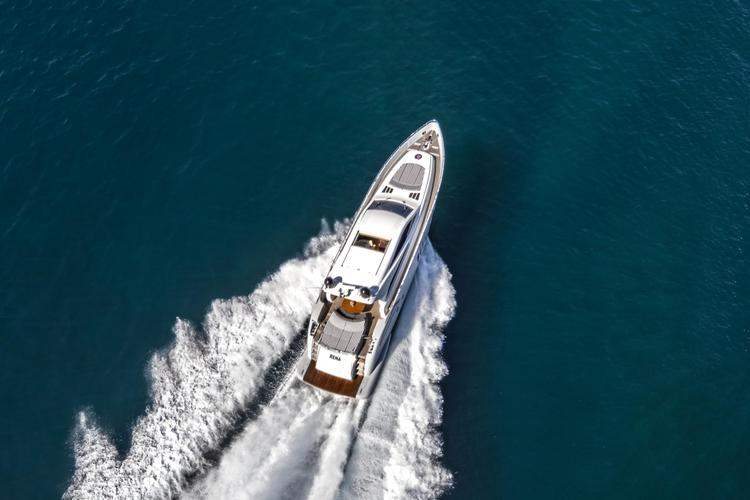 Speed around the Med with this Beautiful Yacht