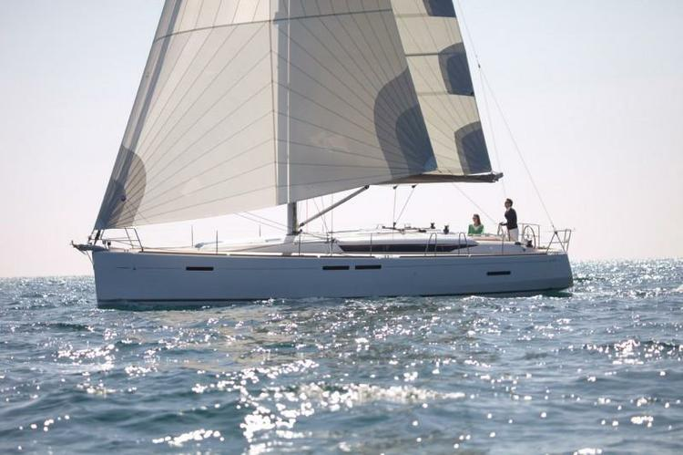 Sail around Croatia aboard this Beautiful Jeanneau