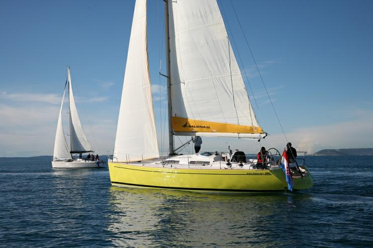 Rent this AD Boats Salona 42 for a true nautical adventure