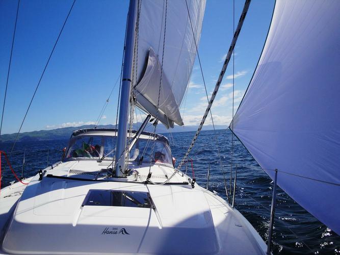 37.0 feet Hanse Yachts in great shape