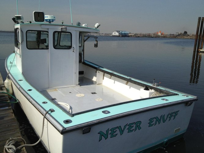 Discover Flushing surroundings on this 6 Passenger H&H boat