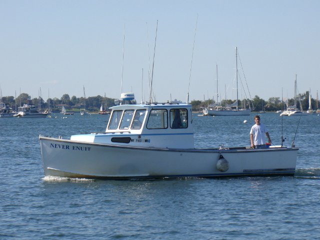 Boating is fun with a Downeast in Flushing