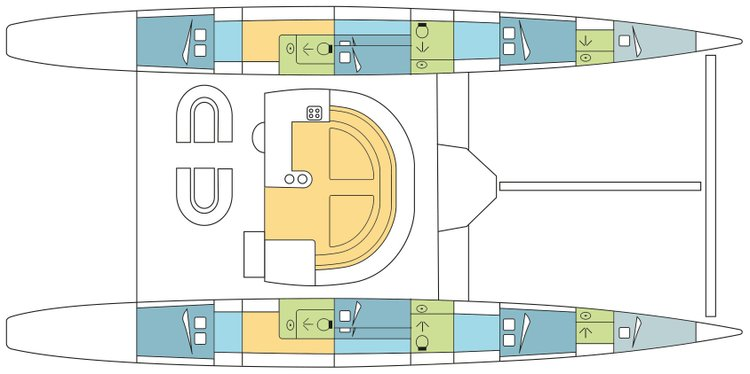 Boat for rent Pinta 62.0 feet in 141/2 Moo 2 Tambon, Thailand