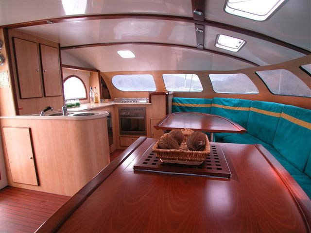 Discover  surroundings on this 62 Pinta boat