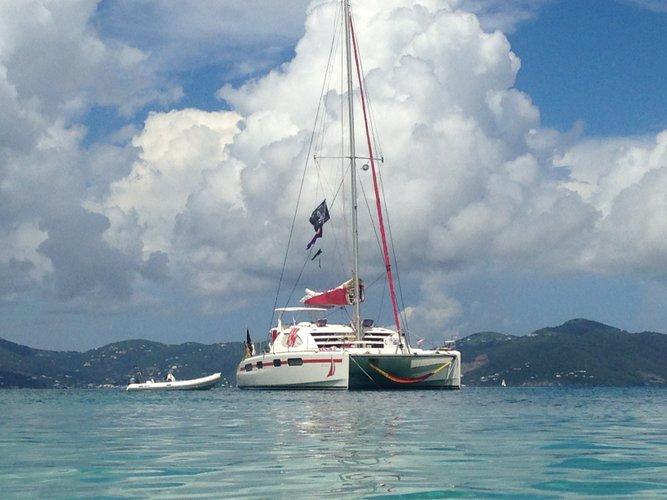 Boat for rent Leopard 46.0 feet in Compass Point Marina, U.S. Virgin Islands