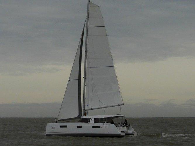 Cruise Mallorca on this gorgeous Catamaran