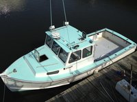 Fish New York on this classic 27' boat