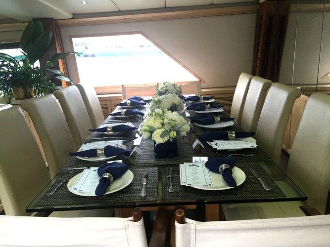 Mega yacht boat for rent in Alpine