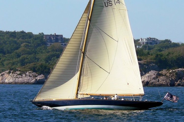 Sail Newport in this Classic Vintage 12 Meter!