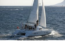 Explore Antigua and the Caribbean on this stunning Lagoon 380
