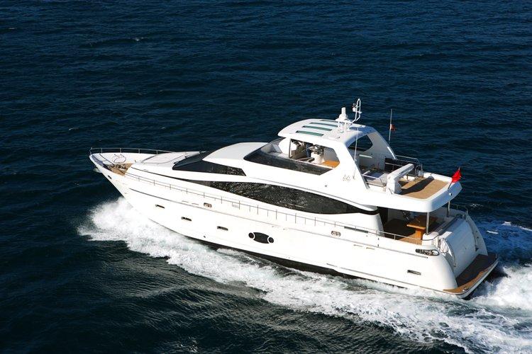 Enjoy Taiwan aboard this comfortable Victoria 76