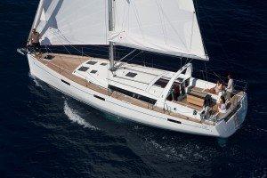 Explore the Keys on this brand new Beneteau Oceanus sailboat charter