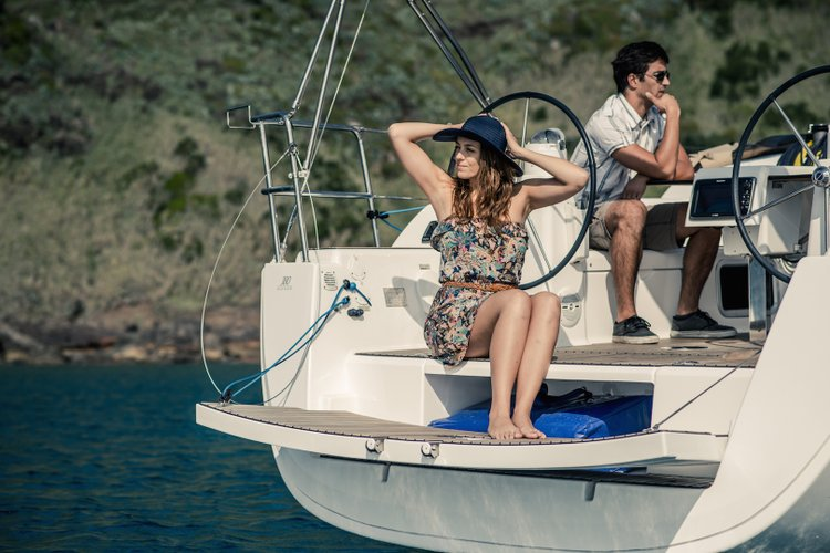 Discover Ponta Delgada surroundings on this Grand´Large 380 Dufour boat
