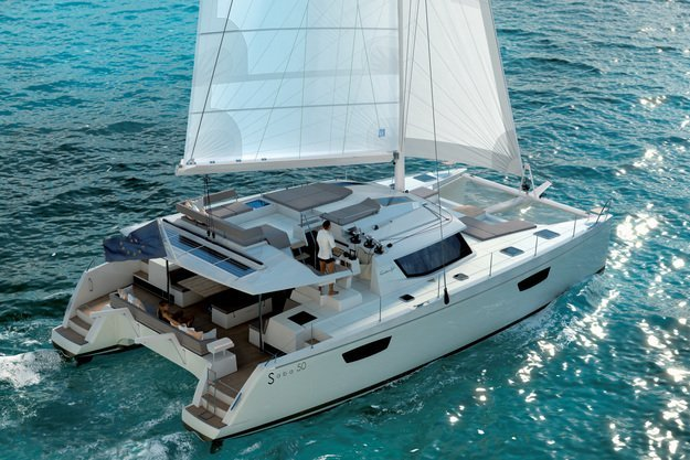 Sail the Keys on this top of the line, large catamaran rental