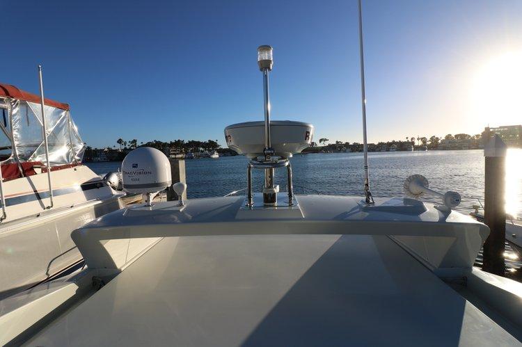 Motor yacht boat rental in Newport Beach Yacht Club, CA