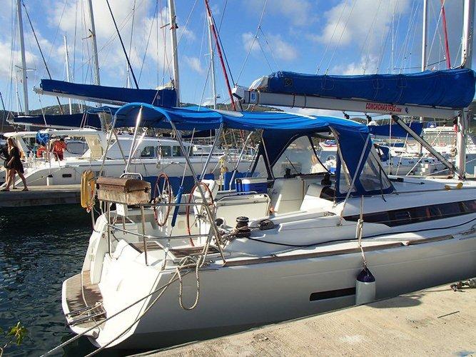 Cruiser boat rental in Fort Burt Marina, British Virgin Islands