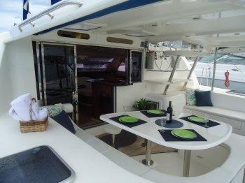 Catamaran boat rental in Island Water World, Netherlands Antilles