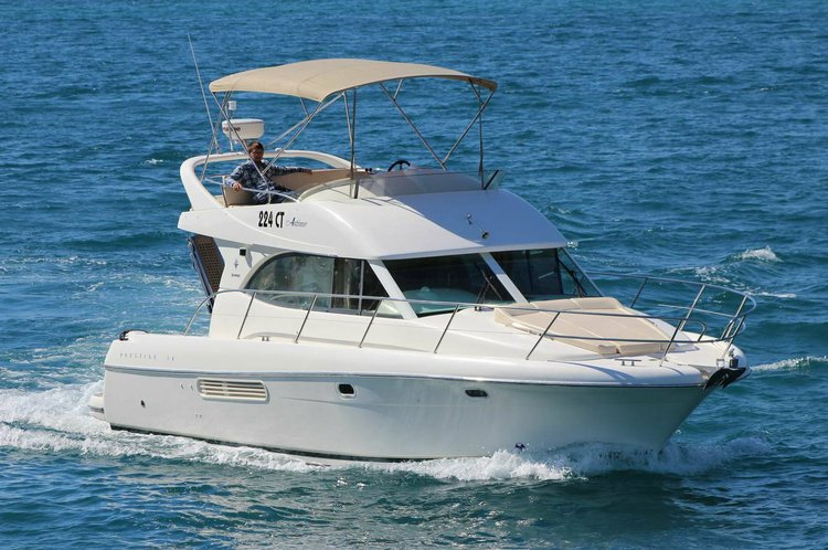 Ideal boat for excursions to Dalmatian islands