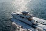 Discover Antibes surroundings on this Manhattan 70 Sunseeker boat