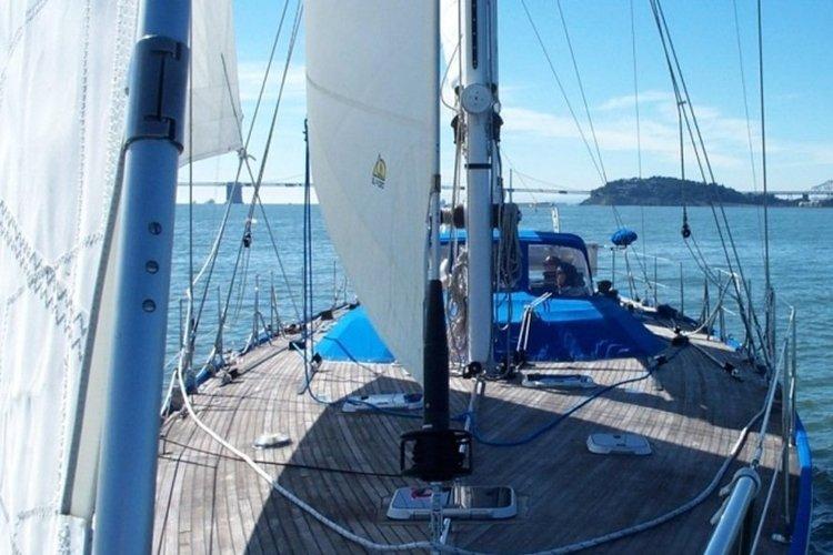 custom 68′ sailing ketch