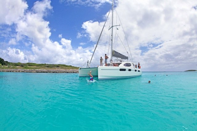 Come sail away to the Caribbean in this beautiful Cat!