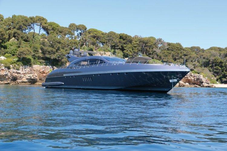Enjoy the Mediterranean sun on this fabulous yacht